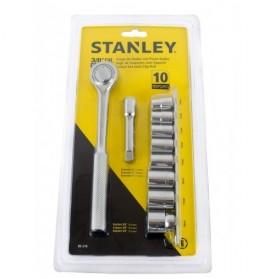 Juego de Copas de 3/8 pulg. 10 piezas / 86-218 Stanley